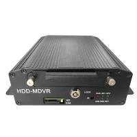 HDD Mobile DVR Supports 4G Or 3G And WIFI With VGA And Alarm Port