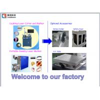 China Metal Engraving Portable Laser Marking Machine USB Software CE Certification on sale