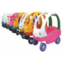 China Colourful Kids Indoor Active Play Equipment Equipment Foot To Floor , Toy Car Plastic on sale