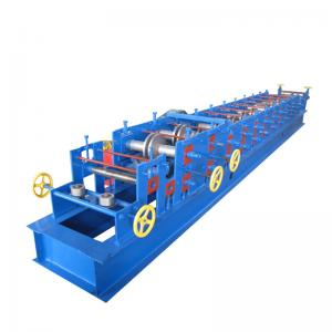 China 2-3mm Galvanized Strip CZ Purlin Machine With 11kw Power 12 Rows Of Rollers on sale