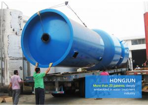 China Mild Steel Multigrade Sand Filter Water Treatment For Agriculture Irrigation System on sale