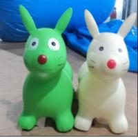 China Environmental Protection Soft Plastic Inflatable Animal Toys , Inflatable Children Toys Custom on sale