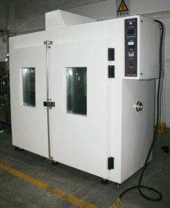 China Double Door Walk In Industrial Vacuum Drying Oven +60℃~+250 ℃ 304 Stainless Steel on sale