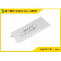 LP042255 Rechargeable Lithium Polymer Battery 3.7V