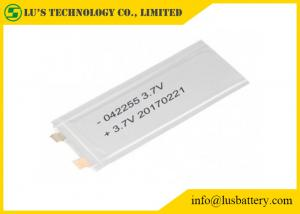 China LP042255 Rechargeable Lithium Polymer Battery 3.7V lithium ion battery small li po battery 3.7v on sale
