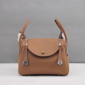 China women high quality tan leather bags 30cm 26cm lychee leather handbags designer bags M-G02-23 on sale