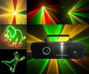 China 1000MW RGY Tri-color Animation Stage Laser Lighting, Dance Halls Disco Light on sale