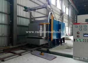 China Tilting Trolley Type Bogie Hearth Furnace Efficient For High Manganese Cast Parts on sale