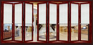 ... Quality Toughened Collapsing Sliding Glass Doors / Bi Folding Sliding Doors for sale ... & Toughened Collapsing Sliding Glass Doors / Bi Folding Sliding Doors ...
