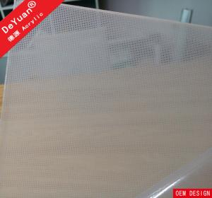 China 5mm Light Guide Panel Fluorescent Light Diffuser Sheet High Purity on sale