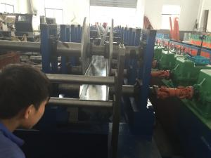 China PLC Touch Screen Control Cable Tray Roll Forming Machine Cable Tray Making Machine on sale