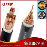 0.6/1kV Copper/Aluminum conductor XLPE/PVC insulated underground power cable