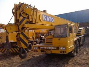 Used Kato 35 ton truck Crane Nk-350 for sale – Used truck