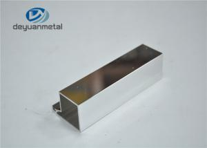 China T Slot Aluminum Extrusions Aluminium Shower Profiles Standard EN755-9 on sale