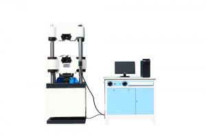 China Tensile Hydraulic Universal Testing Machines For Compression / Bending / Shearing Test on sale