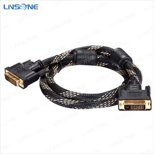 China Linsone Hight quality Black DVI to DVI-I/DVI-D cable on sale