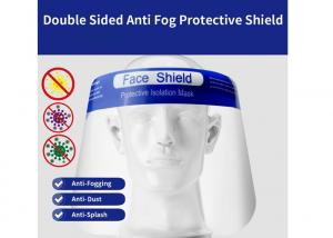 China Clear Protective Face Shield , Comfortable Disposable Face Shield on sale