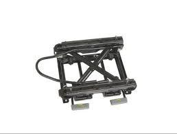 China Q235B / ST13 Oblique Adjustment Yaxing Bus Height Riser & seat Slide Rail HY71 on sale
