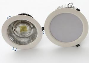 China 240V Adjustable Bathroom LED Downlights 30W - 200W CREE Chips MEANWELL Driver on sale