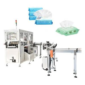 China Good price PLC control facial tissue paper packaging machine wet tissue packaging machine on sale
