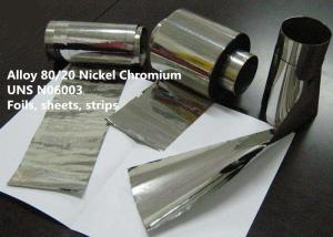 China Alloy 80/20 Nickel Chromium Special Alloys For Electronic With Good Oxidation Resistance on sale