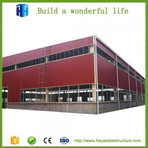 China prefabricated small steel structure workshop building solutions supplier on sale