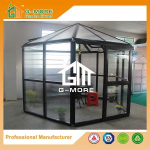 China Latest New Style Luxury Hexagon Aluminium/Polycarbonate Hobby Greenhouse - 320 X 283 X 275CM (L X W X H) on sale