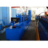 Gcr15 Steel Roller Upright Angle Roll Forming Machine Chain Driven