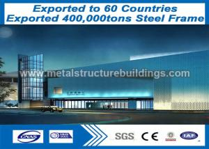 China Heavy Steel Frame Fabrication and Steel Frame Structure eco-friendly designed on sale