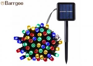 China 12M 100LED Holiday Solar LED Christmas Lights IP 65 8-15 Hours Lighting Time on sale