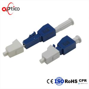 China 1 - 25dB LC UPC Fiber Optic Components , Plastic 1260~1620nm Optical Attenuator on sale