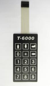 China lattice point membrane switch keypad supplier