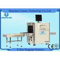 Multi Energy Medium 600*400 mm X Ray Baggage Scanner With 40AWG Wire Resolution