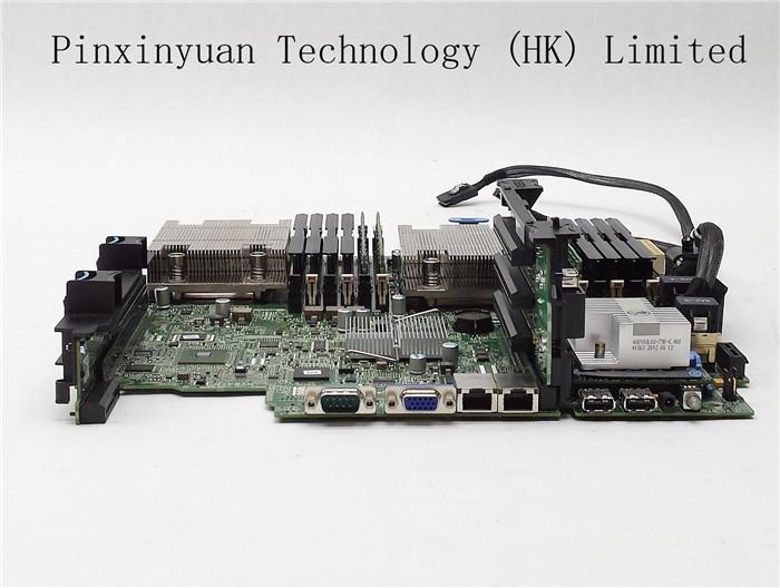 R520 Lga 1366 Motherboard 51XDX 2*6C E5-2440 16GB H710 Half