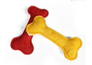 China Luff Pet Chew Toy / Dog Toy red , yellow color for papillon on sale