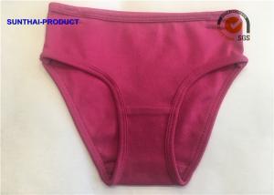 China Trendy Plain Baby Clothes 100% Cotton 1 X 1 Rib Bikini Brief SGS Approved on sale