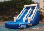 18ft wave commercial inflatable water slide party for kids and adults with 0.55mm pvc tarpaulin material