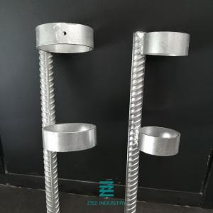 China Fencing Post solid Anchor wood column ground pile screw Galvanized Fence Fittings on sale