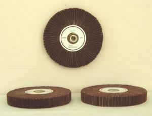 China non-woven abrasive wheel/Plastic surface textile polishing buffs on sale