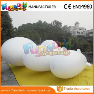 China Giant White Or Customized Color Advertising Inflatables Helium Balloon Blimp Com1 Express on sale