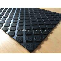 Hardness Rubber Matting Square Rubber Flooring Mats With 60-80 Shore A Hardness