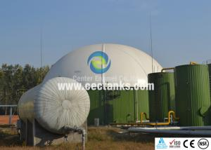 China Bolted Glass Fused to Steel Waste Water Storage Tanks Large Volume on sale