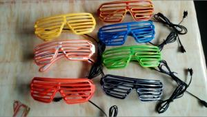 China  Shutter Shade El Wire Glasses  on sale