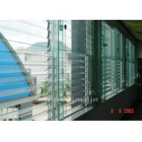 rough grinding edge or polished edge Plate glass window / louver glass