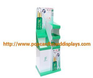 China Supermarket Pos Cardboard Floor Displays , Garden Gloves Cardboard Pop Displays on sale