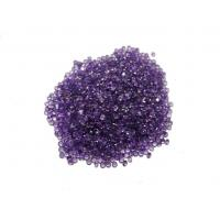 Normal Faceted Natural Amethyst Stones Purple 2mm 0.05 Carats