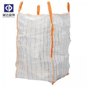 China Breathable Mesh FIBC Bulk Bags 1300 KGS For Firewood / Onion / Potato on sale
