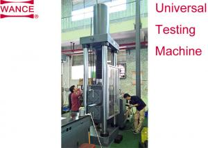 China Durable Servo Hydraulic Universal Testing Machine Reinforcement Couplers – Slip Test on sale