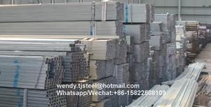 China dn grade 2016 new hot dipped galvanized steel square pipe Structure Buildings Hot Dip Processing zinc coated ASTM A312 on sale