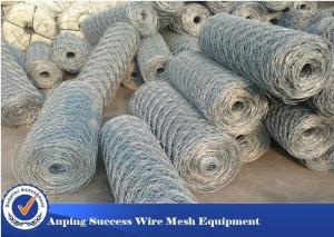 China Heavy Duty Economical Gabion Wire Mesh Roll / Gabion Wall Mesh For Guiding Bank on sale